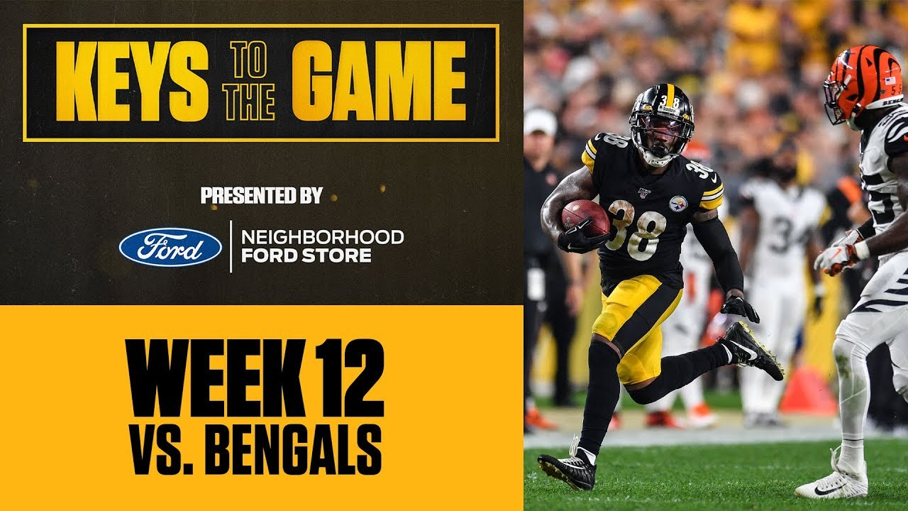 Keys To The Game Against The Bengals Run The Ball Pittsburgh Steelers