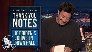 Thank You Notes: Apple Watch Series 6, Joe Biden's Drive-In Town Hall