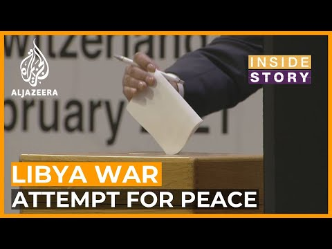 Will the latest attempt for peace in Libya succeed?
