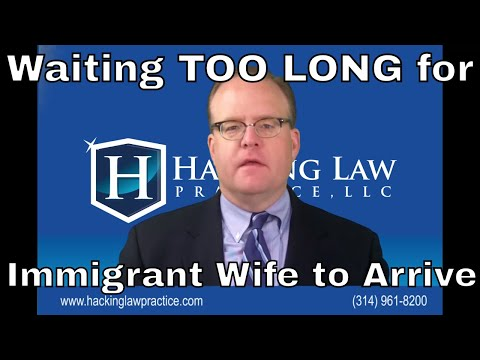 Man Waits Too Long for Immigrant Wife to Arrive
