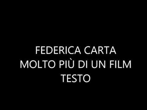Federica Carta - Molto Più Di Un Film, testo