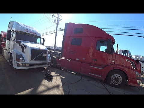Везем грузовик на ремонт. Груз ценой ПОЛ миллиона$ Дальнобой по США