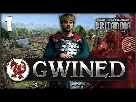 THE WELSH DRAGON RISES! Total War Saga: Thrones of Britannia - Gwined Campaign #1