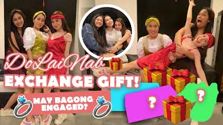Vlog 46: #DoLaiNab - EXCHANGE GIFT PART 2 (Engaged na si ?)