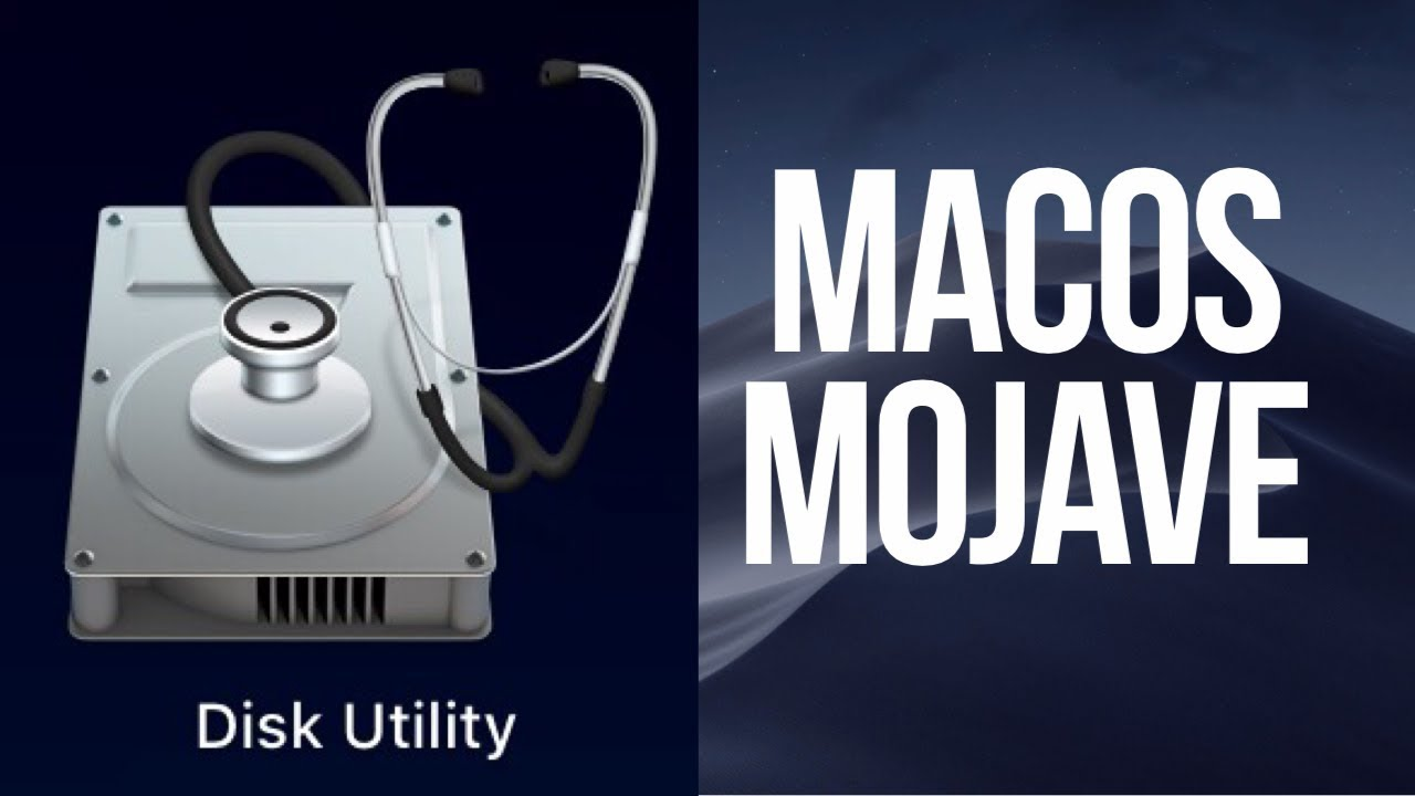 How to Use Disk Utility in macOS Mojave to format,erase, partition external  hdd