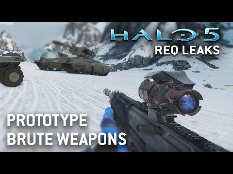 Halo 5 REQ Leaks - Brute Prototype Weapons