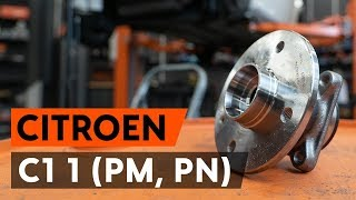Maintenance manual CITROËN C1 (PM_, PN_) - video guide