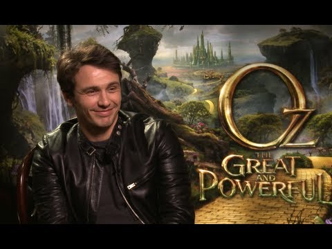 James Franco, Mila Kunis, Michelle Williams OZ The Great and Powerful Interviews!