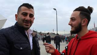 Trabzonspor - Rizespor Maç Öncesi Taraftara Sorduk (interview)