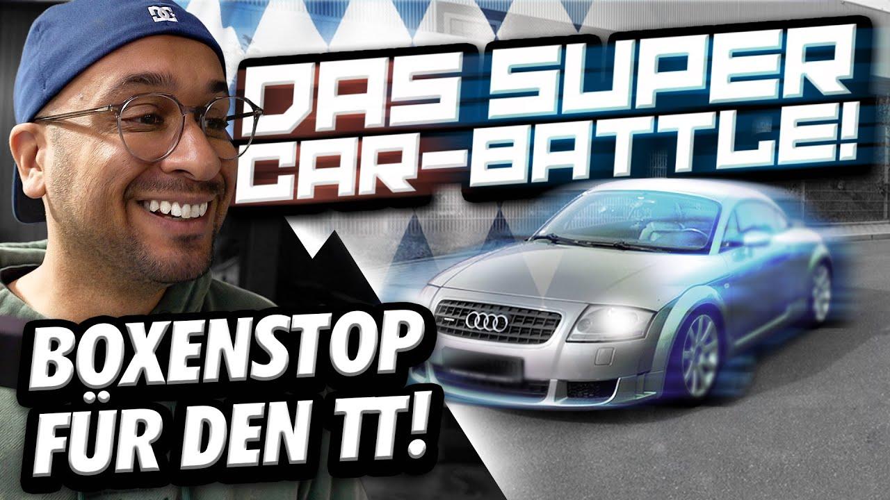 JP Performance -  BOXENSTOP für den TT   Das Super Car-Battle!