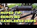 Moped Tip: Remove handlebar grips