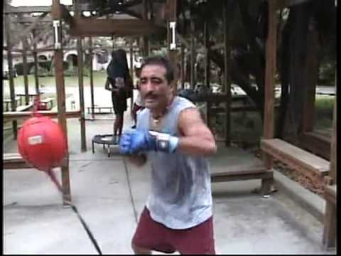 outdoor home boxing gymwith old school training  youtube