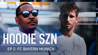 Eat, Sleep, Fútbol with FC Bayern Munich's Javi Martinez and Carmelo Anthony | Hoodie SZN | ICC 2019