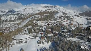 Valberg après les chutes de neige des 14 et 15 novembre 2019