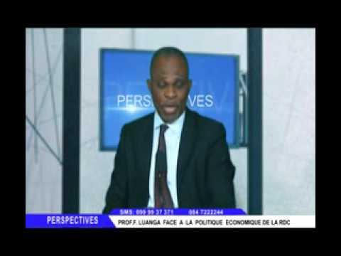 LE PROF. FAUSTIN LUANGA FACE A LA POLITIQUE ECONOMIQUE DE LA RDC