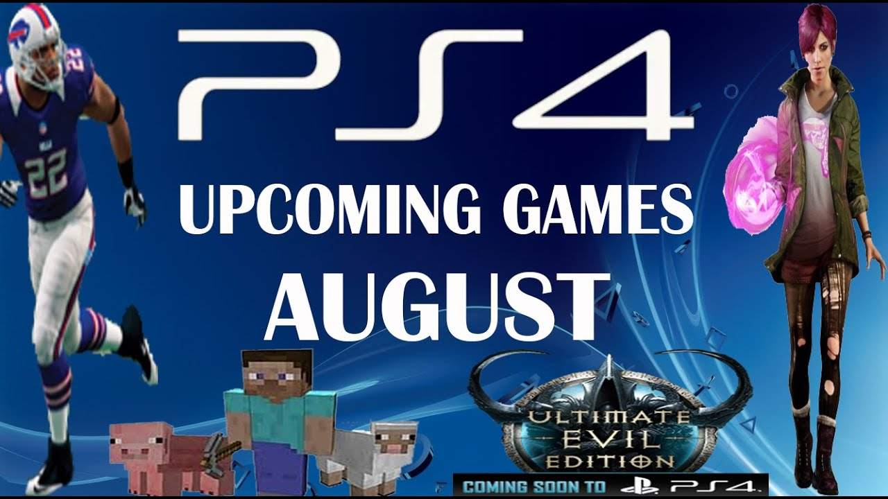 Upcoming ps4 games - cafenews info