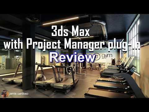 3ds Max With Project Manager Review (CC & TimeStamps)