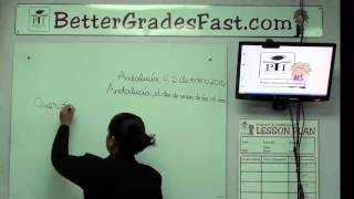 How to Write a Leтter in Spanish   Spanish CXC lessons [RID: p9qAcUKAspesW5dU]