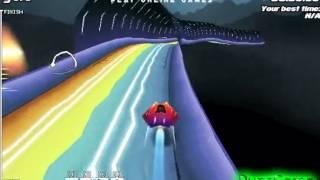 Бесплатные игры онлайн  Игра 3Д гонки на космических кораблях