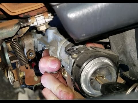 CRV Ignition How to Replace Assembly - walkthru - YouTube