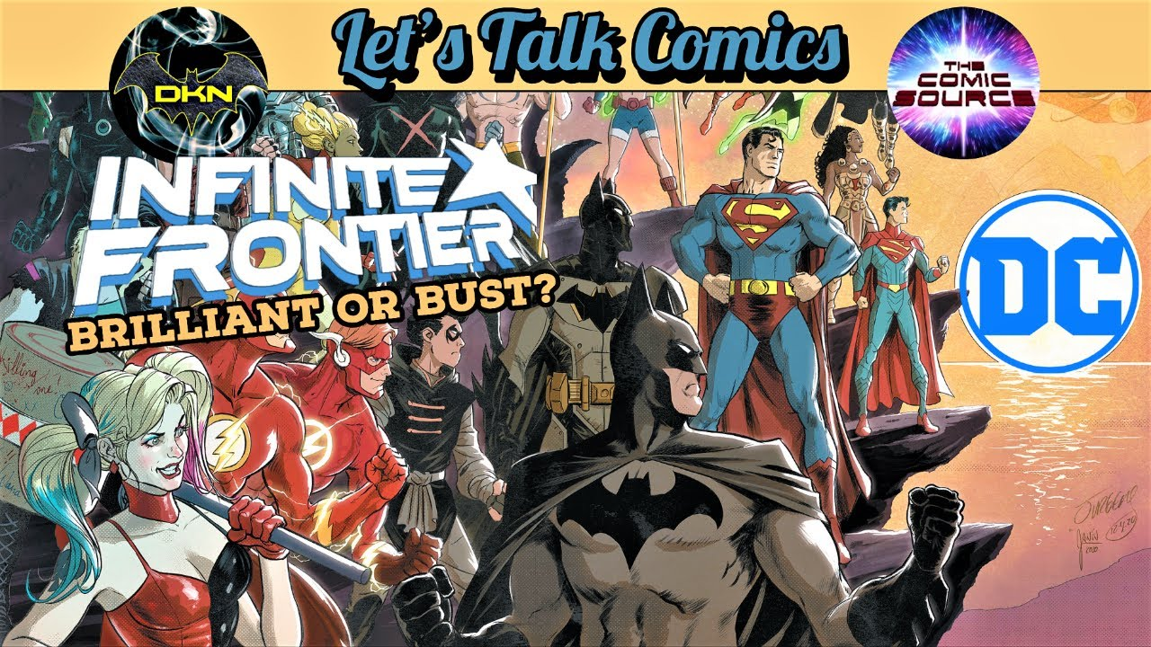 DC Infinite Frontier: What Comes after Future State? | Let's Talk Comics