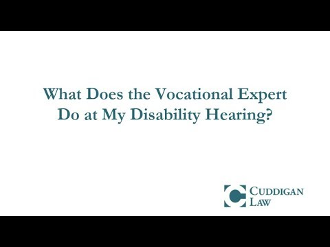 what-does-the-vocational-expert-do-at-my-disability-hearing?