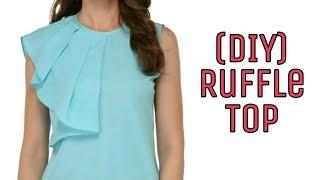 (DIY) Ruffle Top