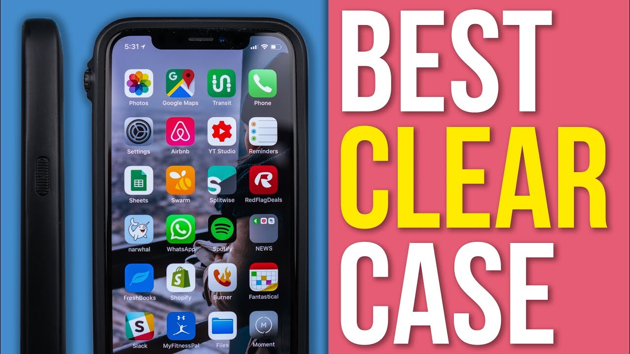 watch 8140e c2ec6 The Best CLEAR Case?! - Catalyst Impact Protection Case for iPhone X -  Review