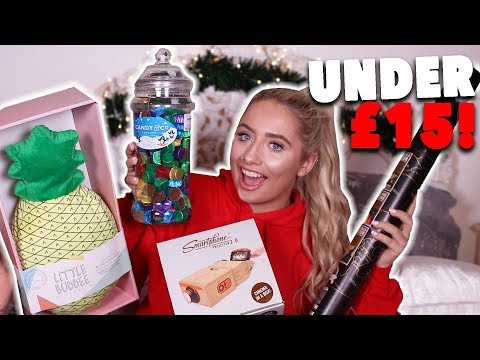 The BEST Gift Guide UNDER £15!! 😱 Unisex GIFT IDEAS for ANYONE!!😍