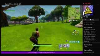 Fortnite Battle Royale PvP (Ps4) Live