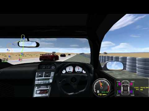 Reno Fernley Raceway Road Course in rFactor