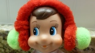 Easy How To D.i.y: Elf On The Shelf Earmuffs For Ur Elves For The North Pole!