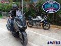 #mv63 Yamaha Xmax At Burtor Motorplus 2017 | Motovlog Indonesia