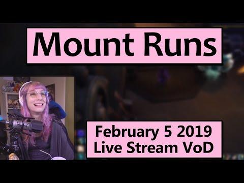 Zul Gurub Mount Runs - February 5 Live Stream VoD Mp3