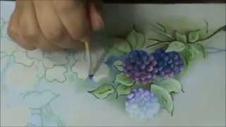 Projeto galho de amoras – pintura em tecido