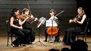 Ganesh String Quartet - Mozart K. 421 III. Menuetto e Trio