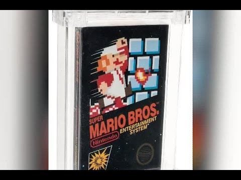 SUPER MARIO BROS GAME AUCTIONS FOR RECORD $114K - Eyewitness News WTVO WQRF