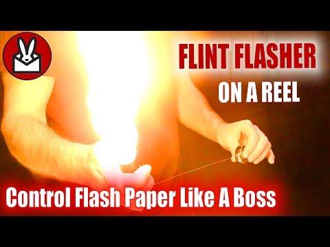Flint Flasher On A Reel