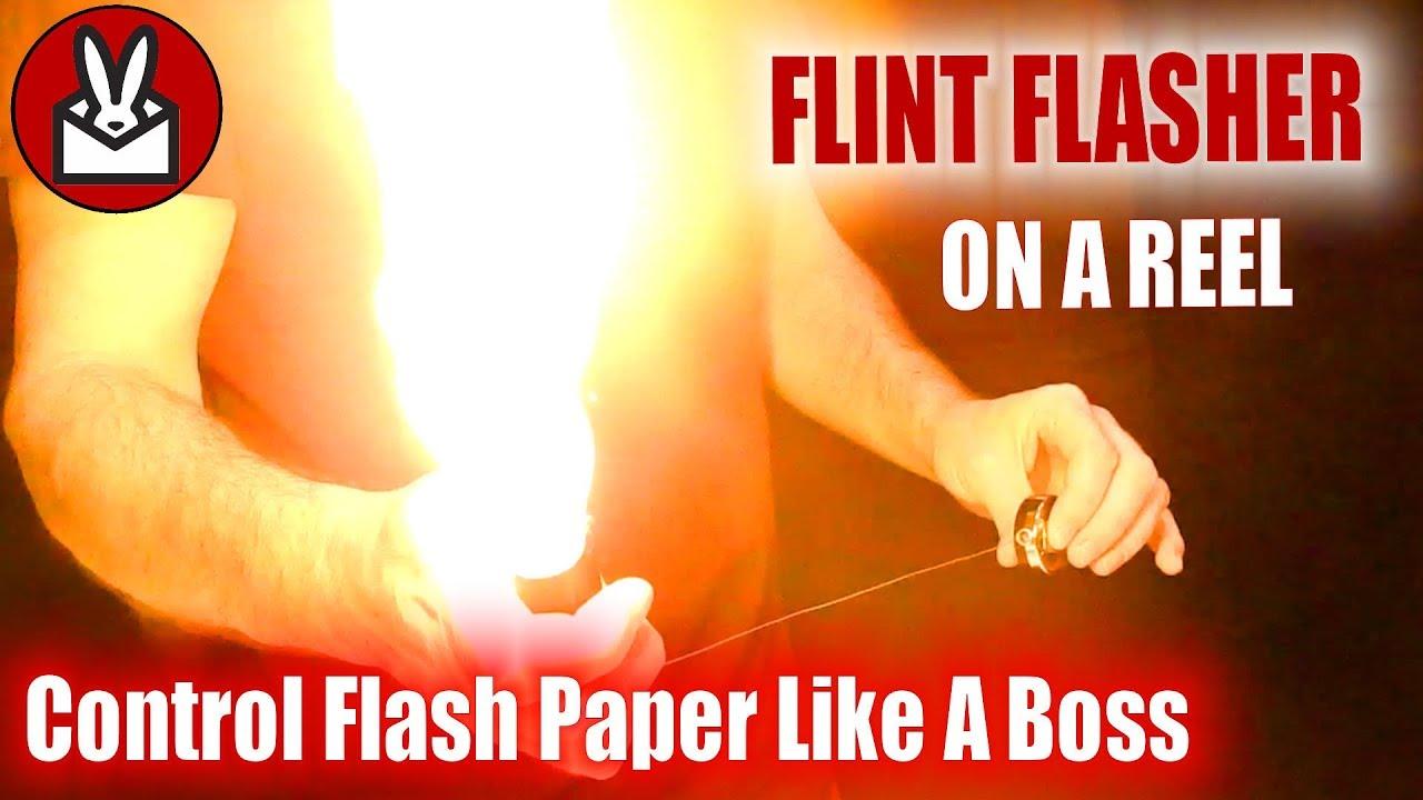 Flint Flasher magic trick Inc Theatre Effects
