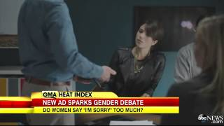 Women Say Im Sorry Too Much - Good Morning America