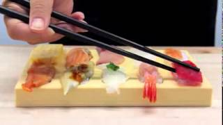 Japanese Sushi Maker Tobidase Sushi Good for Home Party!