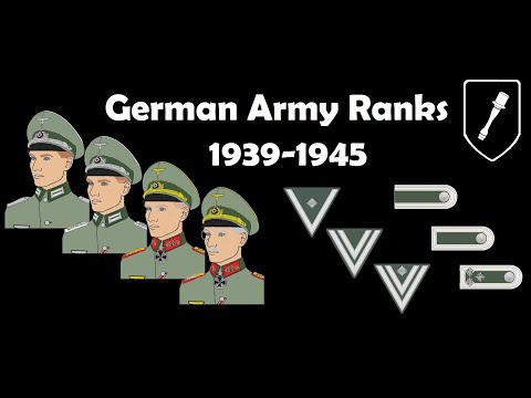 German Army Ranks 1939-1945
