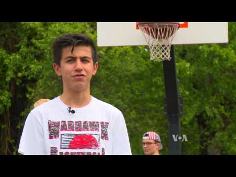 First-generation, Afghan-American Student Sets Sights on Basketball Glory