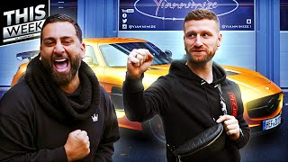 This week at yiannimize we have @arsenal's mustafi collecting his sls, disagreements over a holographic chrome tesla and things get hairy when customer has...