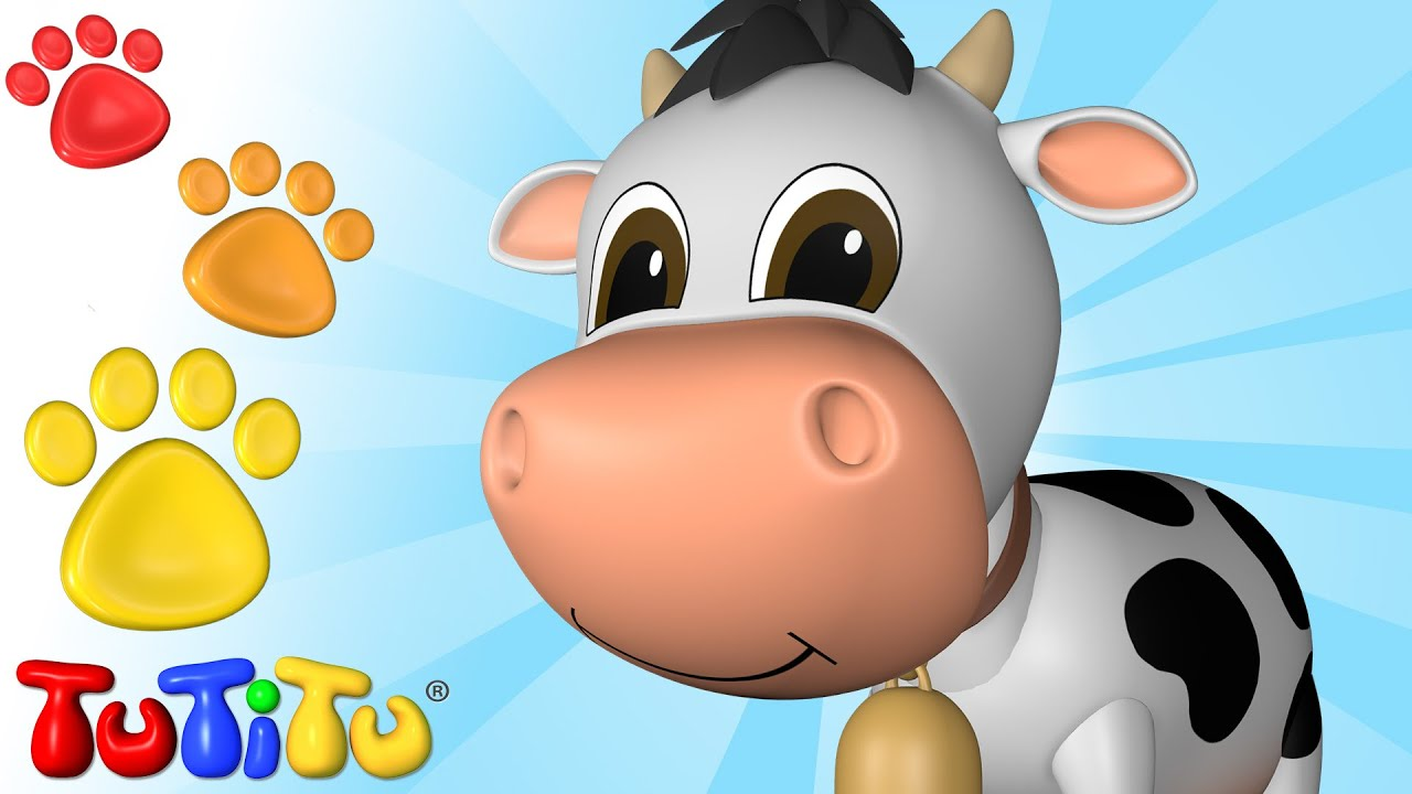 Tutitu animals animal toys for kids cow