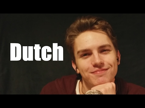 ASMR Whispering Dutch and a little English attempting different accents Obviously