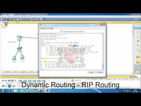 Dynamic Routing Configuring RIP on Cisco Router in Hindi by JagvinderThind