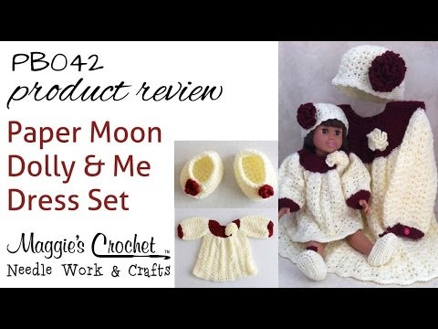 Paper Moon Dolly & Me Dress Set Product Review PB042