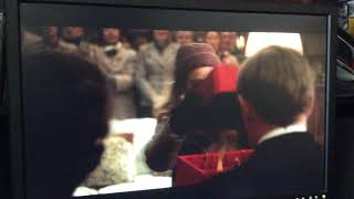 The Crown Christmas Scene