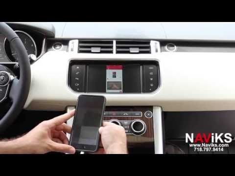 2016 Range Rover L494 NAViKS HDMI Video Interface Add: Smartphone Mirroring IPhone Or Android
